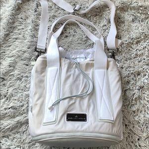9e263c3f2eae Adidas by Stella McCartney white large gym bag